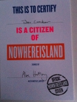 Nowhere Island Citizen